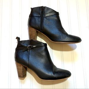 Lucky Brand Mabina Leather Black boots